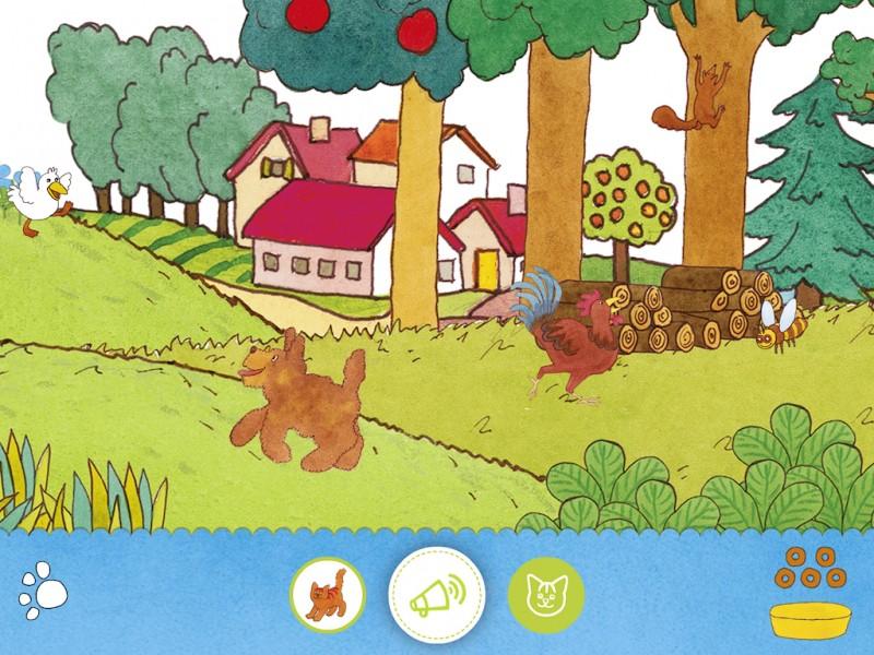 Speelscherm - Dikkie Dik - Zoekspel