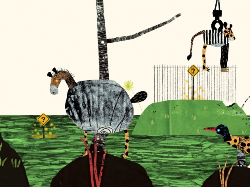 Dierentuin - (te) gekke dierentuin